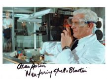Alan Harris Autograph Signed Photo - Licence To Kill